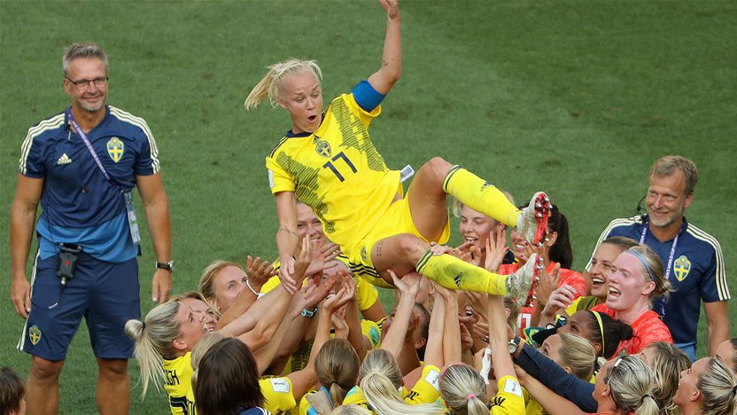 Watch! Sweden takes bronze