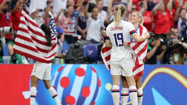 Watch! Record fourth World Cup title for USA