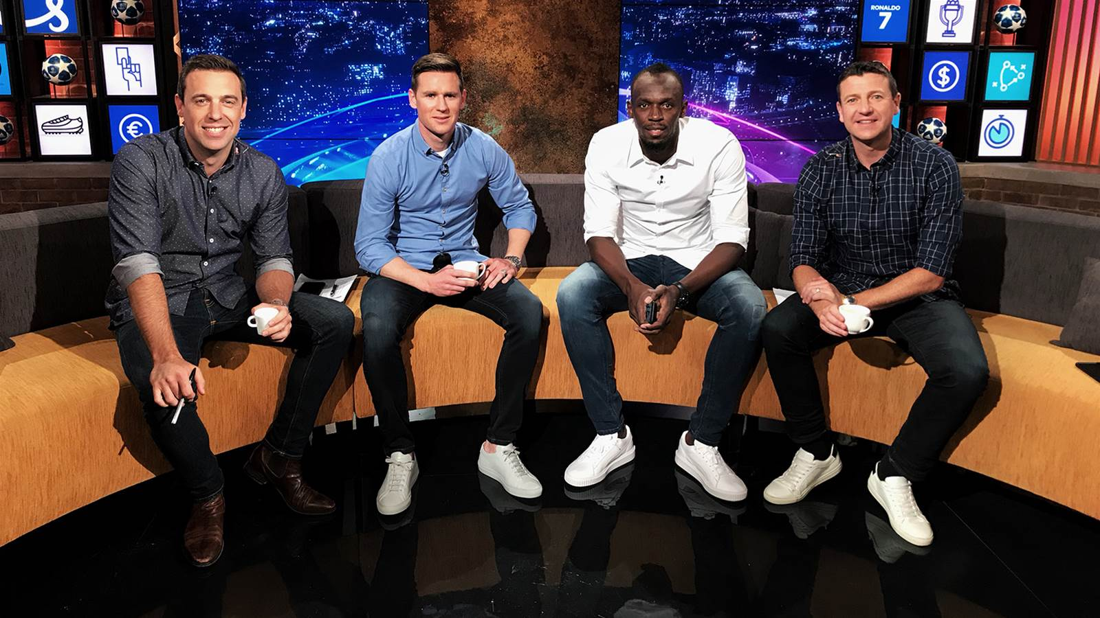 WATCH! Now it's Usain Bolt, football analyst...