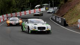 Bentley drivers arrive at Bathurst