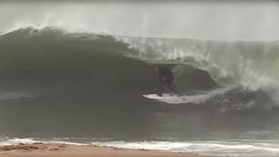 Kolohe Andino, Brad Domke Enjoy a Shorebreak Session for the Ages