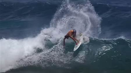 Watch: Mason Ho Puts the New FCS H4 Fins Through Their Paces