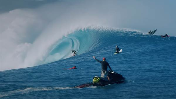 Watch: The Extended Cut of JJF's Insane Outer Reef Session