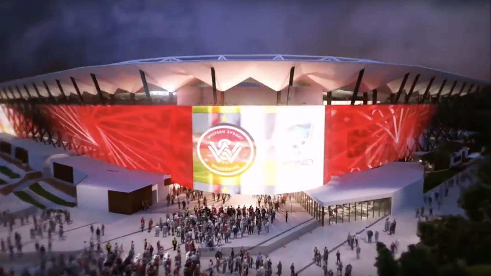 Inside the new Western Sydney Stadium