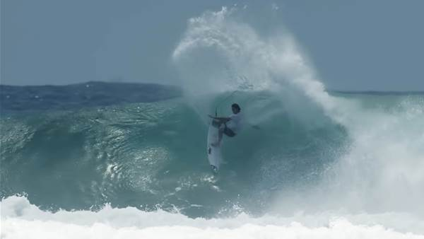 Jordy Smith's Pre Snapper (D-Bah) Training.