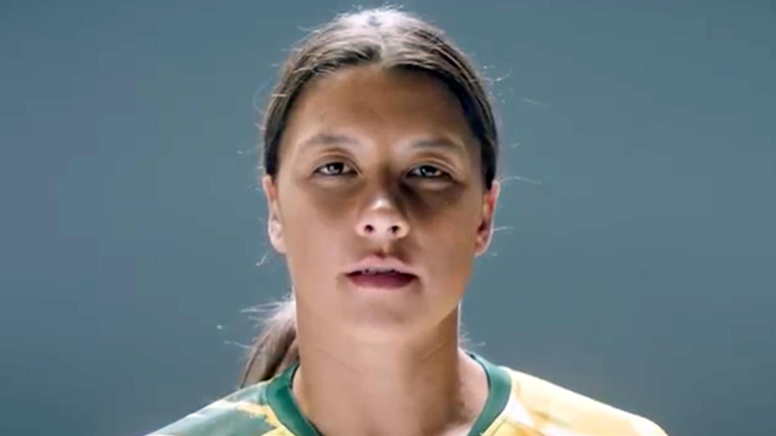 Watch! Sam Kerr fronts Australia's 2023 World Cup bid