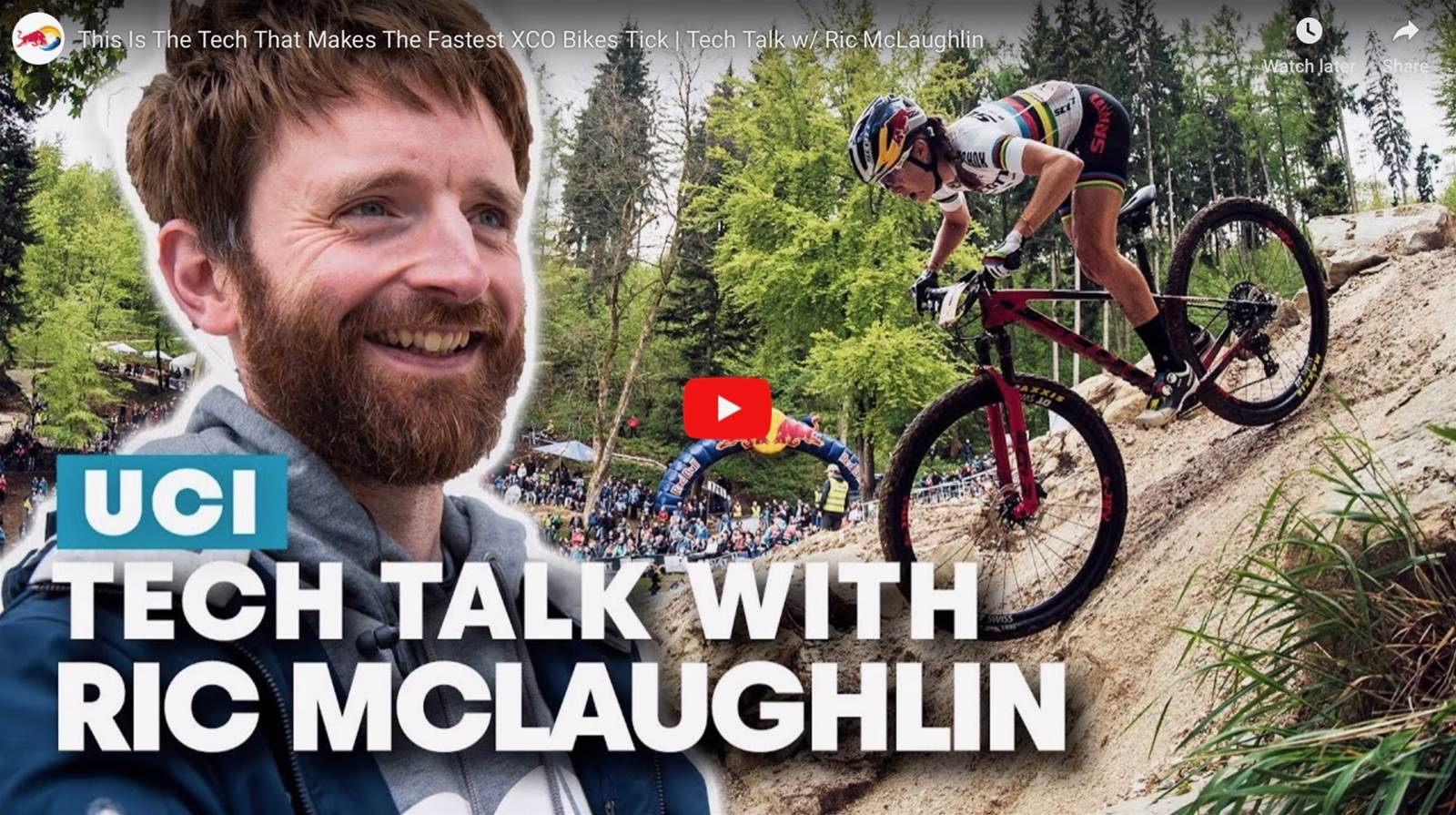 Redbull XCO bike tech check