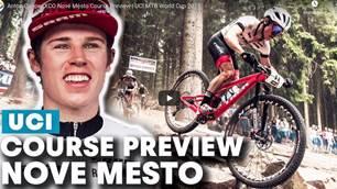 Anton Cooper XCO Nové Město Course Preview | UCI MTB World Cup 2019