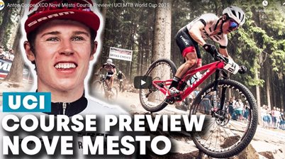 Anton Cooper XCO Nové Město Course Preview | UCI MTB World Cup 2019