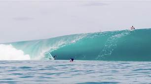 Teahupoo has been pumping!