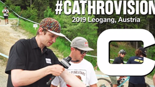 #CathroVision // World Cup Leogang Day 1 - Track Walk