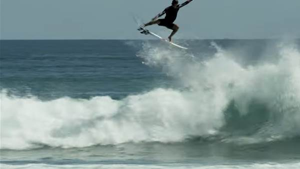 Watch: Filipe Toledo's Five Minutes of Fire in Sumbawa