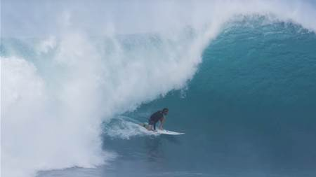 Conner Coffin Shooting Pipe and Duelling at Haleiwa