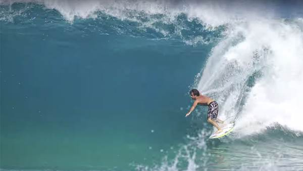 Mason Ho Surfs Mysterious North Shore Sand Bar
