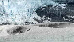 Glacier Surfing in Alaska with Dylan Graves