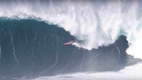 Watch: Nathan Florence and Billy Kemper's Paradigm Shifting Jaws Session