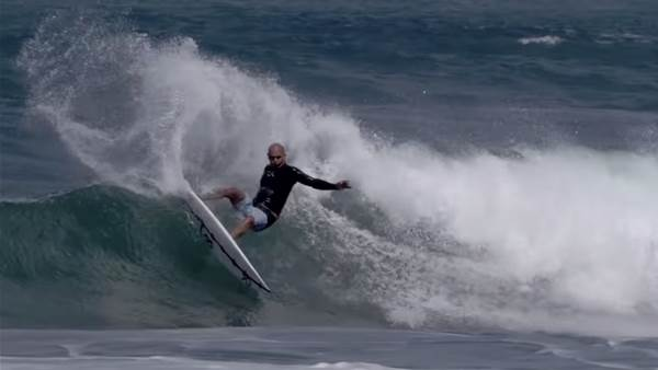 Watch: Kelly's 2020 Tour Prep Sessions at Haleiwa