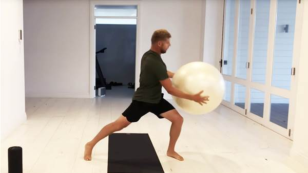 Watch: Mick Fanning's At-Home Surf Workout