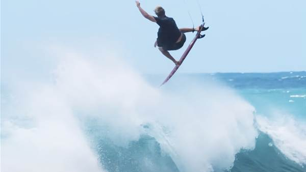 Watch: John John Florence Tests His Knee at Air Camp with Brother Nathan