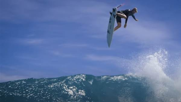 Watch: John John Florence, Albee Layer, Matt Meola and Nate Florence Chasing Clouds in Hawaii
