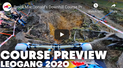 Leogang DH Course Preview 2020