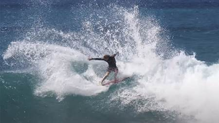 Watch: The Brothers Florence Enjoy Fun, Early Season Oahu