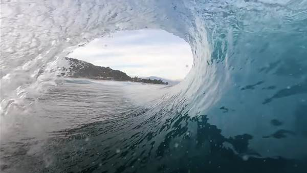 Watch: Nathan Florence Welcomes the Hawaiian Season with a Dawn Patrol at Perfect Backdoor.