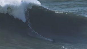 Watch: It's Open Season at Nazare!