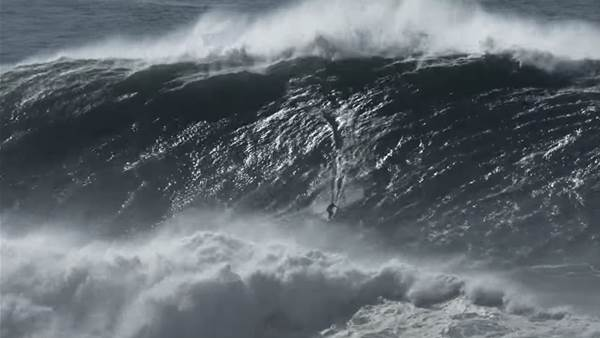 Watch: Nic Von Rupp & The Biggest Nazare Ever