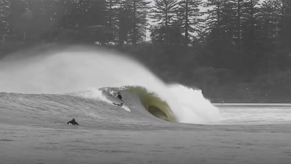 Watch: Here's What Kirra and Noosa Did During This Week's Wild Weather