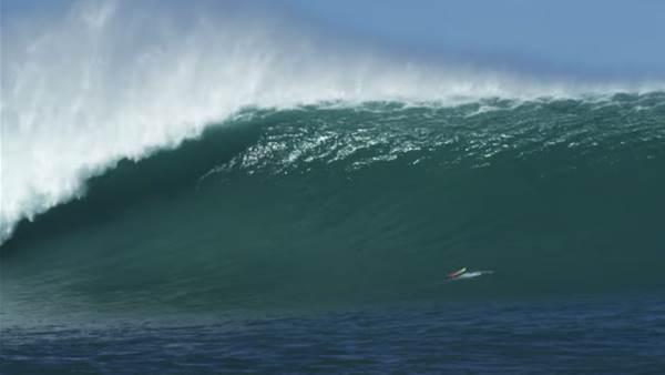 Watch: When John John Florence Tells You to Surf Giant Phantoms, You do it!