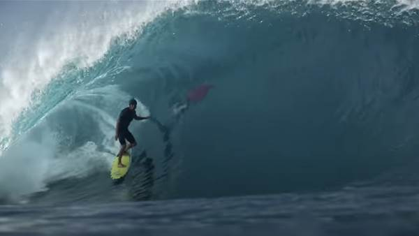 Watch: Koa Smith's Epic Mic'd Up Pipe Session