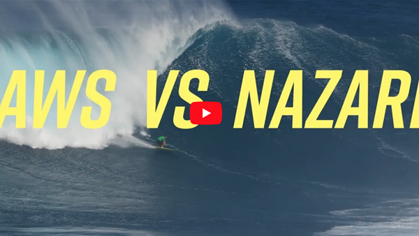Jaws Vs Nazare