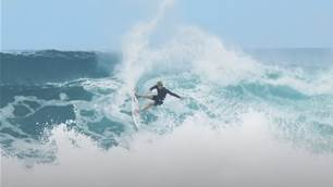 Watch: Kelly Slater, Jack Robbo, Florence & Colapinto Brothers and more Disembowel Haleiwa