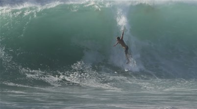 Watch: Morgan Cibilic Star in a Heavy Hawaiian Sandbank Session