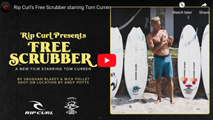 Watch: 'Free Scrubber' Featuring Tom Curren