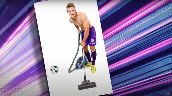 Watch! Mascot madness and Jamo's modelling past...