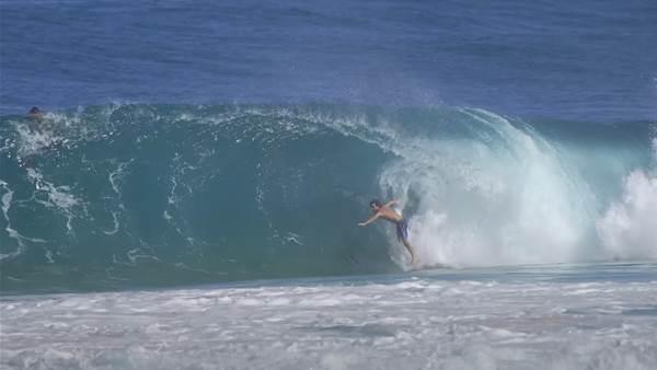 Watch: Mason Ho Packing Sandbar Slabs with Pops