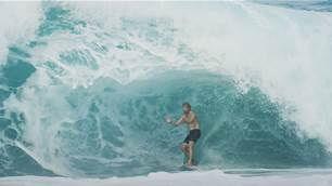 Watch: John John Florence Wrestles with a Nasty North Shore Sandbar