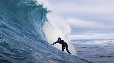 Watch: Surfing in Canada Rewards Those Who Put in Work