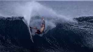 Watch: Mikey Wright in 'The Rock'