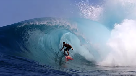 Watch: Nate Behl putting Mcnasty in the Mentawai