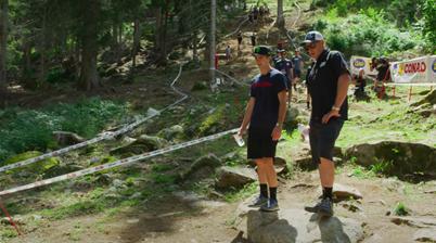 World Champs DH: Track Walk at Val di Sole
