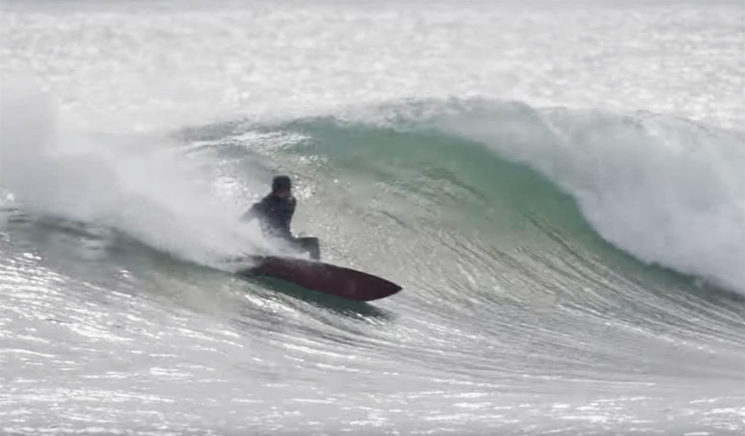 Dylan Graves Surfs Firing Lake Superior