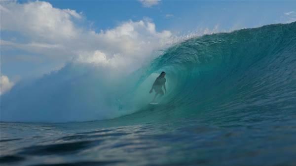 Adrien Toyon's Pacific Embrace