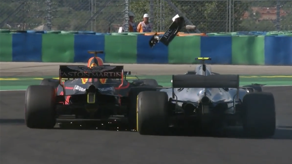 WATCH! Top five moments from Hungary F1 GP