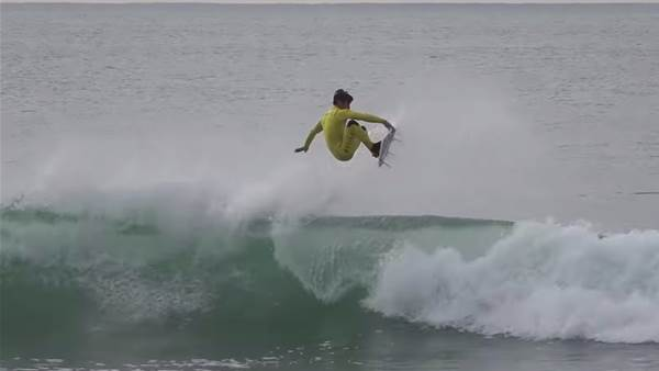 Watch: Kalani Robb's Soft Approach to Trestles