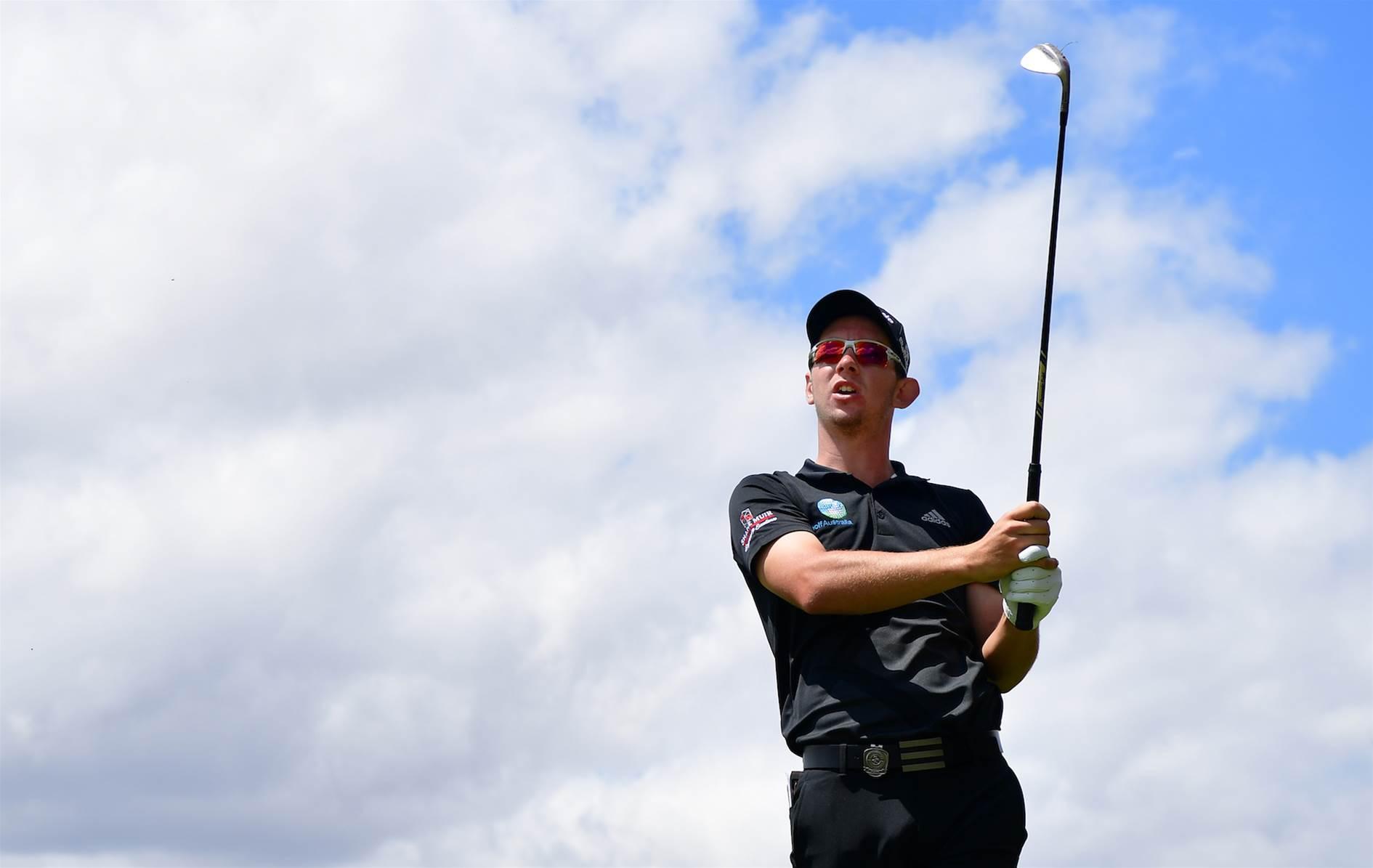 VIDEO: Lucas Herbert's pre-round routine