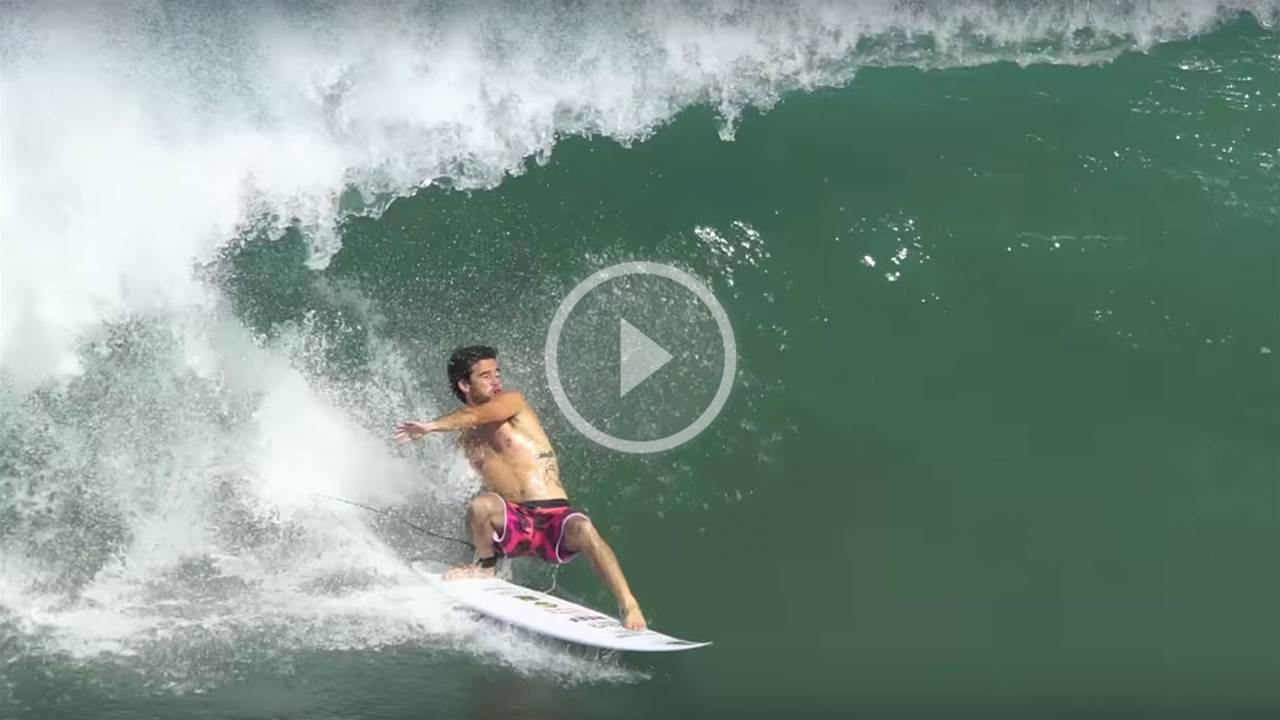 Mason Ho & Tom Curren Chase A Typhoon To Japan