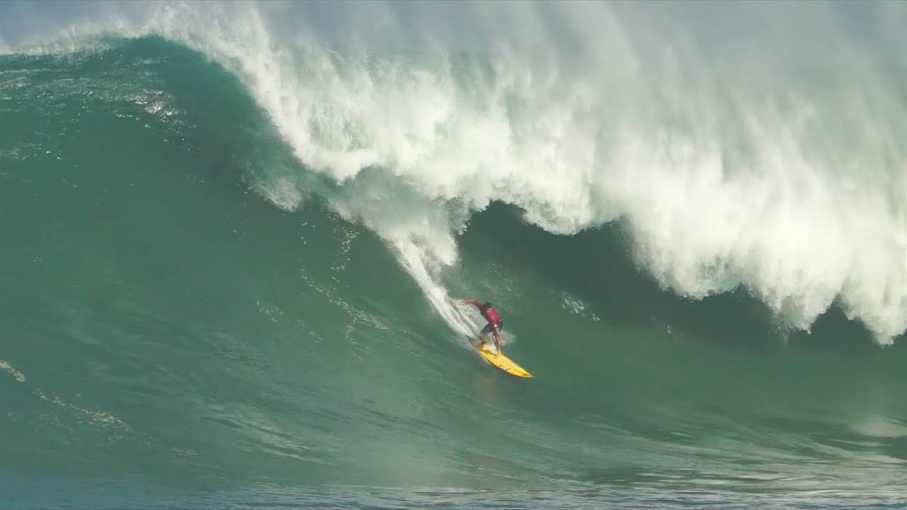 Mason Ho Takes On Monster Waimea